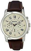 Мужские часы Fossil FS4839 Grant Chronograph