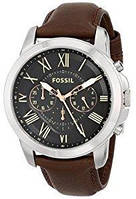 Мужские часы Fossil FS4813 Grant Chronograph