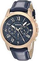 Мужские часы Fossil FS4835 Grant Chronograph