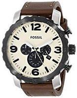 Мужские часы Fossil JR1390 Nate Chronograph