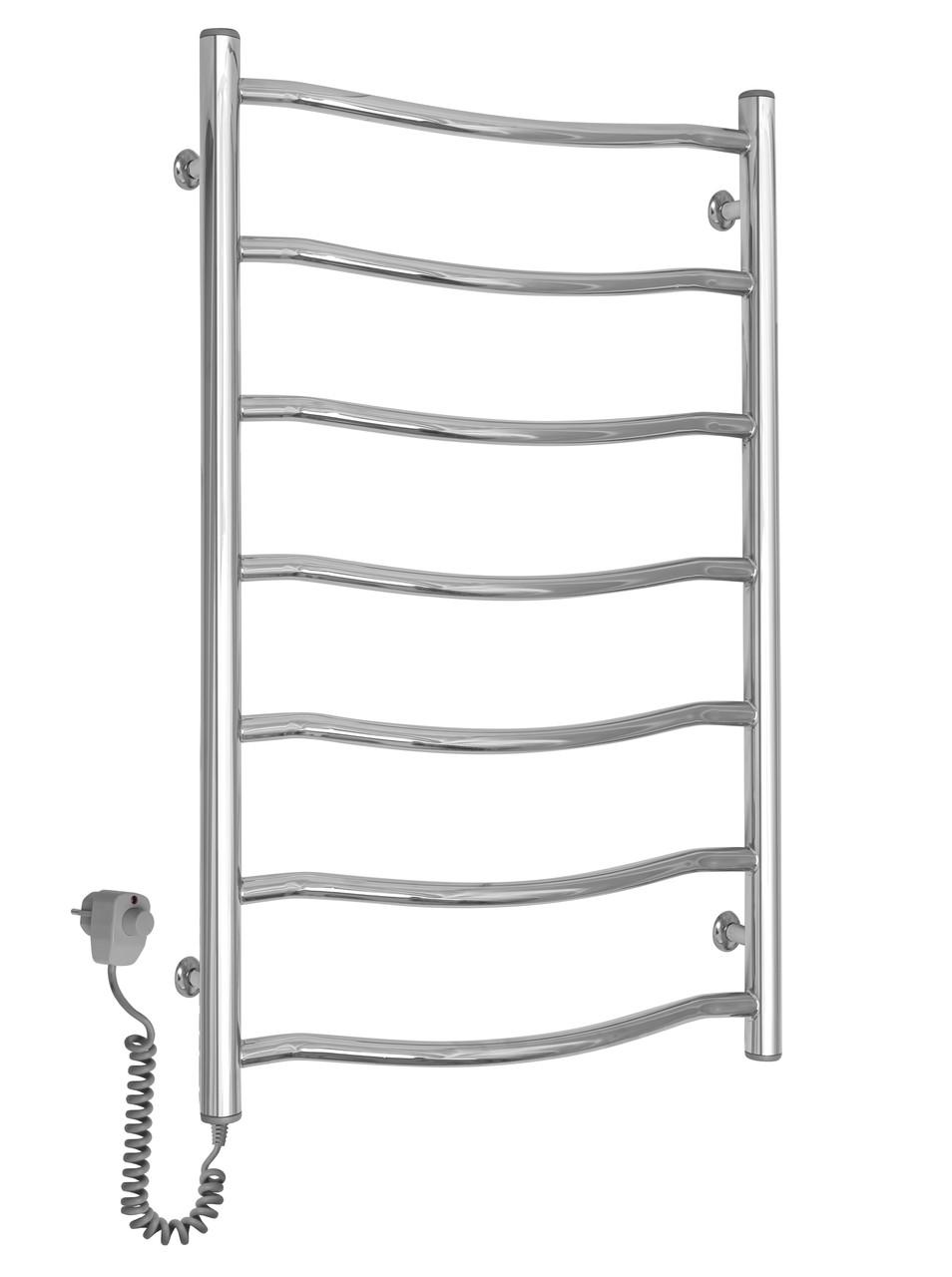 Полотенцесушитель электрический Paladii Смайл Электро 800x500/7 левый с регулятором