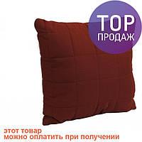Декоративная подушка Бордо 40х40 / оригинальный подарок