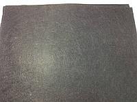 Фетр 0,8 мм (42 х 50 см) полиэстер цвет черный