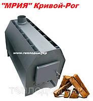 Печь буржуйка МРИЯ 15 (Печь длительного горения 5 кВт до 100м3 ) Кривой-Рог