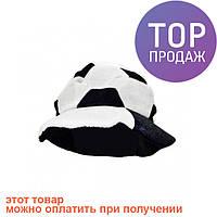 Шапка Футбольный мяч черно-белая / Карнавальные головные уборы