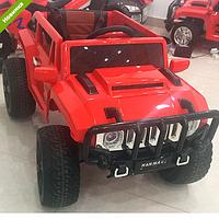 Детский электромобиль Джип Hummer M 3570 EBLR--3 красный