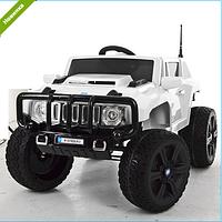 Детский электромобиль Джип Hummer M 3570 EBLR-1 белый