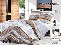 Комплект постельного белья полуторный  Elway 3031 cатин