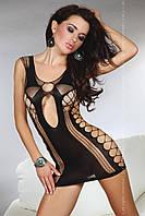 Сексуальное платье-сетка Anshula от TM Livia Corsetti (Польша) Размер S/L Цвет черный