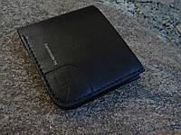 Кожаное  портмоне ручной работы