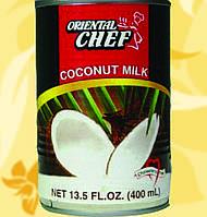 Кокосове молоко, легке, 17%, Oriental Chef, 400мл, Ч