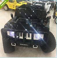 Детский электромобиль Джип Hummer M 3570 EBLRS-2 АВТОПОКРАСКА черный