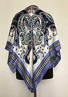 Шелковый платок с узором