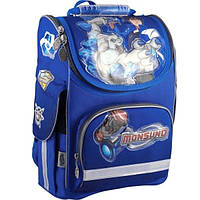 Рюкзак школьный каркасный 501 Monsuno-1 (MS13-501-1K)