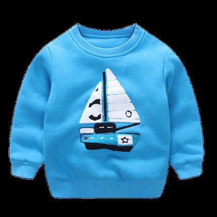 Свитерок детский кораблик , фото 2