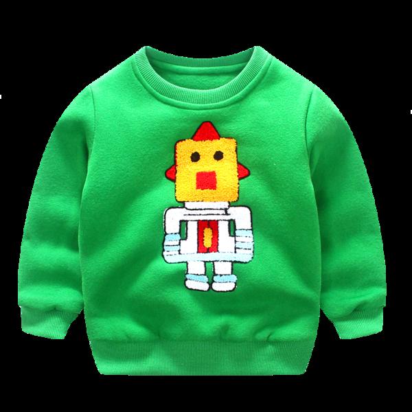 Свитерок детский робот