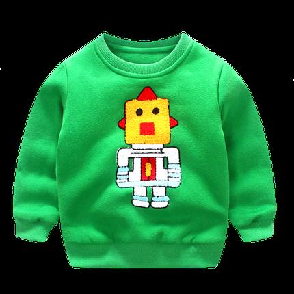 Свитерок детский робот, фото 2