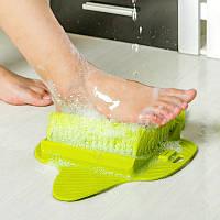 Щетка для ног в ванную на присосках Foot Brush, фото 1