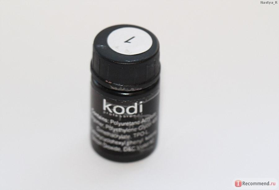 Гель-краска Kodi №1, белая.
