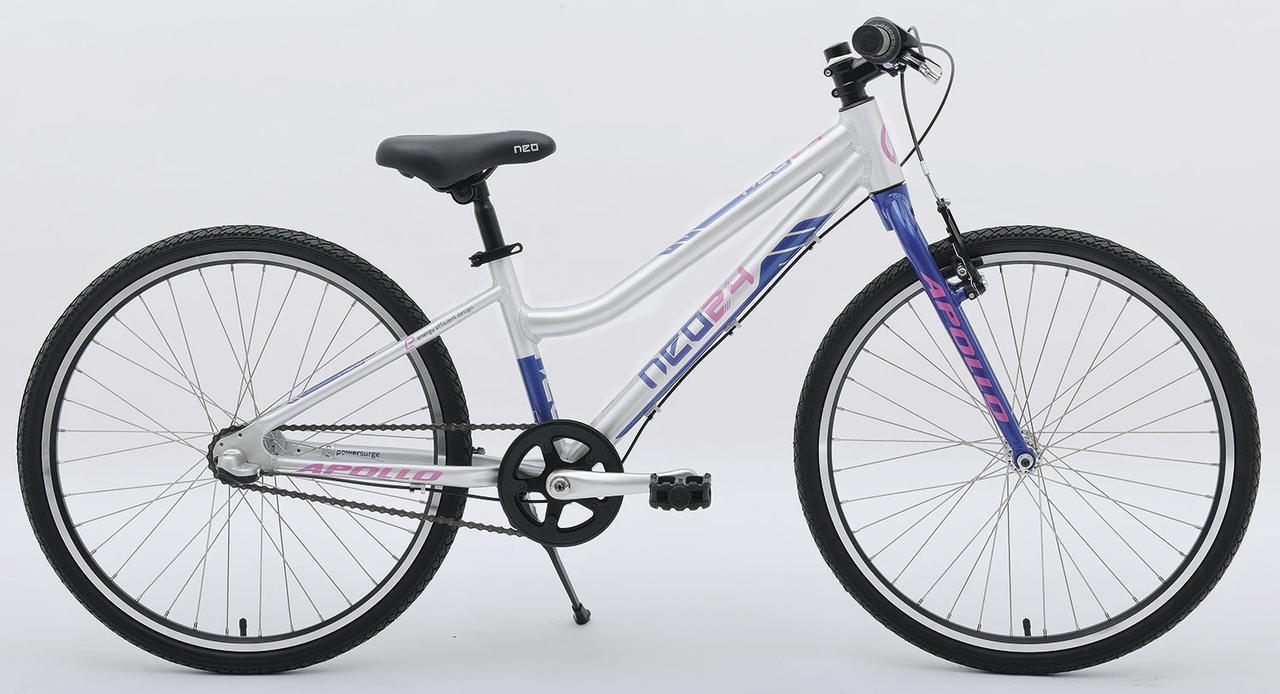 "Велосипед 24"" Apollo Neo 3i girls 2018 (синий-розовый)"