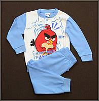 Пижама тёплая для мальчиков 3, 6 и 7 лет