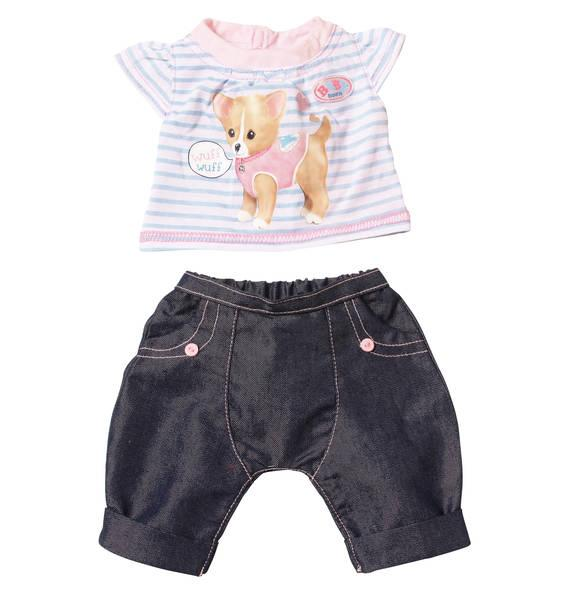 Одежда для кукол Беби Борн комплект одежды со звуками собачка Baby Born Zapf Creation 817612