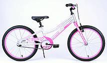 "Велосипед 20"" Apollo Neo girls 2018 (розовый-белый)"
