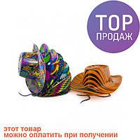 Шляпа Ковбоя пластик с принтом / Карнавальные головные уборы