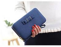 Женский кошелек + чехол для мобильного телефона в одном, женский бумажник, длинный кошелек, отличный подарок