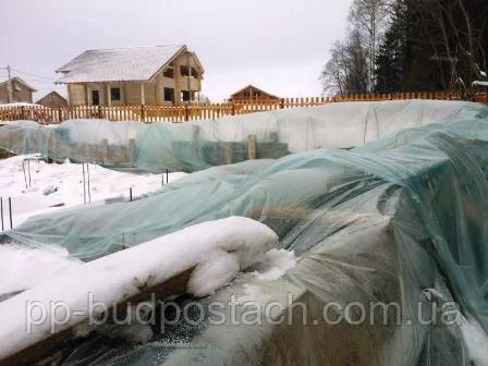 Чем чревата зимняя стройка основания дома