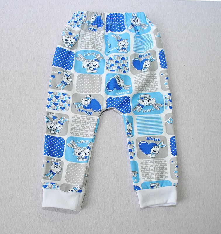 Штаны для мальчиков на рост: 56-86 см (начес)