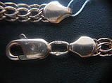 Золотая ЦЕПЬ универсальное плетение ШАРЛОТТА 13.75 г. 45 см, фото 9