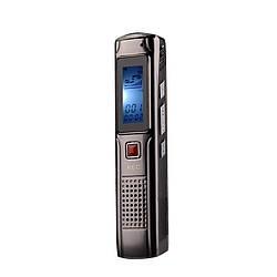 Компактный цифровой диктофон в металлическом корпусе Joxin, 8 Гб, MP3 плеер.