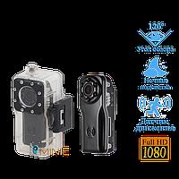 Мини камера S80 с защитным аквабоксом и мощным аккумулятором