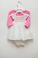 Комплект из платья, трусов и кофточки для девочки от NAUTICA