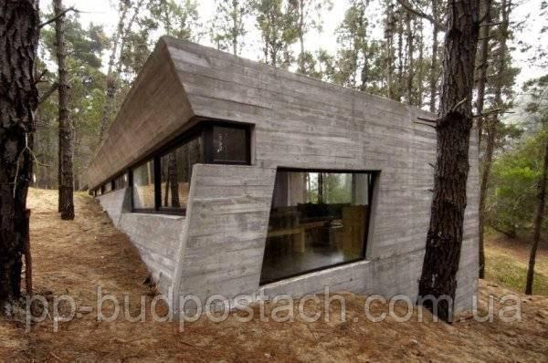 Як побудувати будинок з бетону.