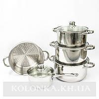 Кухонный набор кастрюль и кухонных пренадлежностей Giakoma G-5834