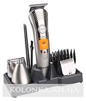 Машинка для стрижки волос триммер 7 в 1 для бороды. носа .ушей и тела Kemei KM-580A