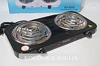 Электрическая плита Domotec 2 спиральная DT-1015  2000w