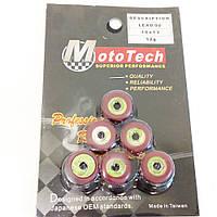 Ролики вариатора Honda Lead, GY6-50 16х13- 12g к-кт Mototech (Taiwan)