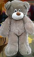 Плюшевая игрушка медведь, мишка 140 см, серый