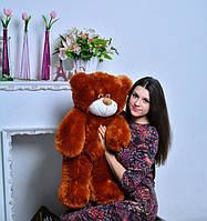 Плюшевая игрушка медведь, мишка 80 см, коричневый