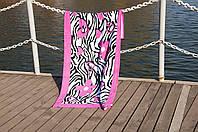 Пляжное полотенце 75х150 Lotus GOOD MOOD