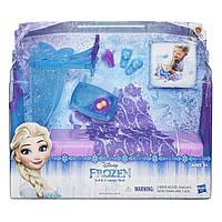 Игровой набор Кровать Эльзы из мультфильма Холодное Сердце. Disney Frozen Icicle Canopy Bed Set.