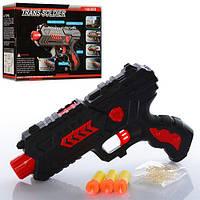 Пистолет 789-3B (120шт) 20-14см, водяные пули, пули-присоски 3шт, в коробке, 21-14-4,5см
