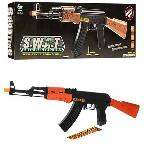 """Автомат игрушечный AK 47-1 """"S.W.A.T."""",63 см (Y), фото 2"""