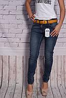 Женские турецкие джинсы бойфренды (код 4010-D-3)