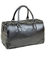 Дорожная сумка черная на одно отделение dr.Bond 88652-1 black