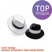 Шляпа Мужская пластик с лентой / Карнавальные головные уборы