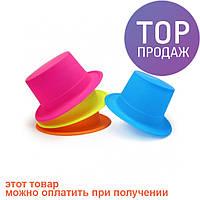 Шляпа Цилиндр Флок / Карнавальные головные уборы